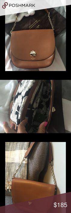 Kate Spade handbag‼️Rare‼New with tags Camel color leather handbag New With Tags kate spade Bags