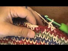 Crochet Gilet Stitch Demo da Oombawka design