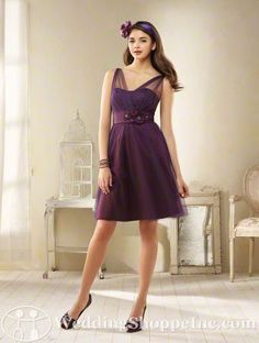 Plus Size Purple Bridesmaid Dresses work for every season!! Love this Alfred Angelo 8606. http://www.weddingshoppeinc.com/pr/Alfred-Angelo-8606/46252