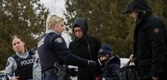 "Now let's see how the world responds to Canada's handling of the situation....hmmmmm!....""Illegal Immigrants May Not Find Warm Welcome in Canada 