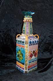 para mosaic on bottles