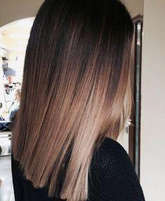 New Hair Brown Balayage Straight Medium Lengths Ideas Brown Blonde Hair, Brown Hair With Highlights, Light Brown Hair, Medium Hair Styles, Curly Hair Styles, Balayage Brunette, Black Balayage, Brunette Highlights, Caramel Highlights