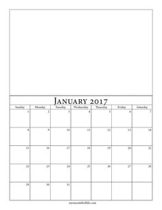 CalenderblankJpg  Bytes  Printables  Calendars And Lists