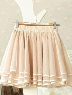 Sweet Leaf Pattern Lace Apricot Above Knee Skirts Above Knee Skirts from stylishplus.com