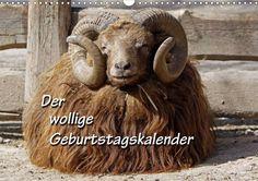 Der wollige Geburtstagskalender - Schafe, Lämmer, Skudden und andere Wolle-Lieferanten
