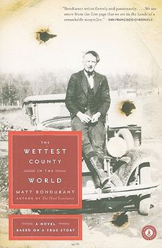 Newest Book Suggestion to my pinterest Followers: The Wettest County in the World by Matt Bondurant.  Hard to get into the style of writing but 100% worth reading