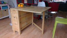 Life in Dutch: IKEA Vrijdag: Norden Klaptafel/Gateleg Table