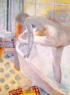 Nude in the Bathtub (1924) Pierre Bonnard
