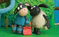 BBC launches children's CBeebies iPlayer for children aged 6 and under Sheep Fondant, Peppa Pig Memes, Clay Animation, Timmy Time, Animal Humour, Time Cartoon, Sheep Art, Shaun The Sheep, Cute Sheep