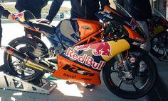 KTM Moto3 Racing Machine