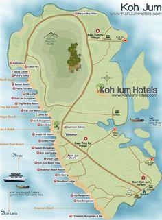 Koh Jum Map