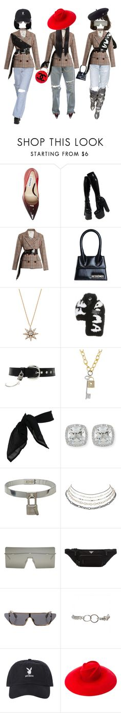 """""""Las Harmanas."""" by thaijohnson ❤ liked on Polyvore featuring Steve Madden, Isa Arfen, Jacquemus, Bee Goddess, Fendi, D&G, TC Fine Intimates, Frederic Sage, AMBUSH and Charlotte Russe"""