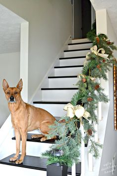 Check out this year's neutral Christmas house tour with lots of ideas for a sophisticated color palette during the holidays.