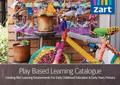 Zart Play Based Learning Catalogue - 2014  Creating Rich Learning Environments for Early Childhood Education and Early Years Primary  All products are available through our online store at www.zartart.com.au  Facebook updates: https://www.facebook.com/ZartArtPBL