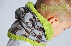 Calendário do Advento - Doors # 8 - Tutorial para 'nen kids snood - nähideen - Roupas Sewing Kids Clothes, Sewing For Kids, Baby Sewing, Diy For Kids, Diy Clothes, Crochet Blanket Patterns, Baby Knitting Patterns, Sewing Patterns, Hat Patterns
