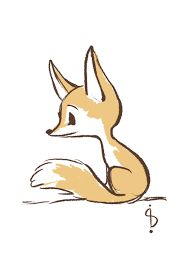 Image result for cute fox drawing tumblr