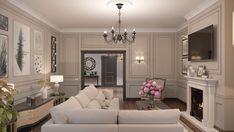 Гостиная в частном доме. - Галерея 3ddd.ru
