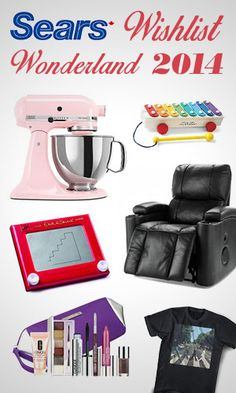 Sears Wishlist Wonderland Sweepstakes *Contest Closes on Dec 23* http://free.ca/contests/sears-wishlist-wonderland/ #Contest #Winter #Wishlist