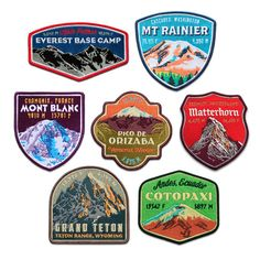The Dream Series Patch Collection by ExpeditionCollect on Etsy, $99.95  ....So, anybody else want to do these?