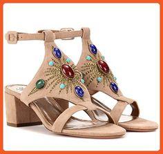 CCBubble Sandals Woman Shoes 2017 Summer Beach Ladies Shoes Khaki-US13.5-14 - Pumps for women (*Amazon Partner-Link)