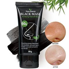 Black Mask Blackhead Remover- Purifying Peel-off Mask Deep Cleansing, Deep Pore Cleanse for Acne, Oil Control. For product & price info go to:  https://beautyworld.today/products/black-mask-blackhead-remover-purifying-peel-off-mask-deep-cleansing-deep-pore-cleanse-for-acne-oil-control/