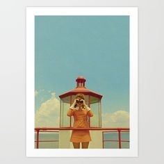 MOONRISE KINGDOM Art Print by VAGABOND - $15.00