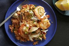 This comforting dish comes from South Carolina's Low Country, where seafood is abundant and rice cultivation is integral to the region's foodways. Charleston, S.C., chef Mike Lata offers a quick-cooking recipe that really allows the ingredients to shine.
