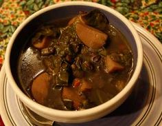 New Mexico Style Black Bean Soup