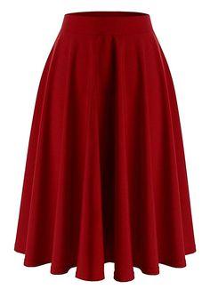 Catsuit, Cocktail Rouge, Skater Skirt, Midi Skirt, Fancy Skirts, Chiffon, Thing 1, Boho, Elegant