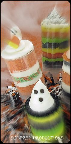 Ghostly Cake Push Ups