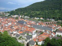 """Mis Fotos de… Heidelberg (Alemania). """"""""Heidelberg es una ciudad situada en el valle del río Neckar en el noroeste de Baden-Wurtemberg (Alemania). Es famosa por su centro histórico con el castillo de Heidelberg, y la universidad más antigua del país..."""" http://fotosdehoy.wordpress.com/2009/03/15/mis-fotos-de%E2%80%A6-heidelberg-alemania/"""