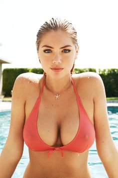 breast implants | Kate Upton Breast Implants Plastic Surgery I want boobs like hers #one-day soon.