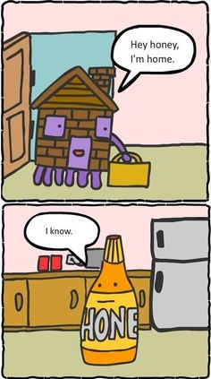 Hey honey, I'm home - funny pictures #funnypictures
