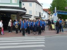 May 1 (the German Labour Day) in Bad Woerishofen, Bavaria