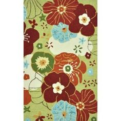 Loloi Rugs Summerton Collection | Loloi Rugs Summerton Life Style Collection Lime Multi 2 ft. 3 in. x 3 ...