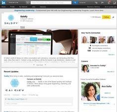 Salsify LinkedIn Profile - https://www.linkedin.com/company/salsify