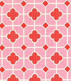 Patty Young Premium Quilt Fabric-Patio Tile Pink