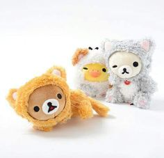 Cute Cosplay Rilakkuma Plushie, Plushies, Tokyo Otaku Mode, Mode Shop, Cute Cosplay, Cat Costumes, Fluffy Cat, All Toys, Kawaii Cute