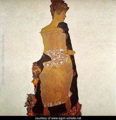 Portrait Of Gerti Schiele - Egon Schiele - www.egon-schiele.net