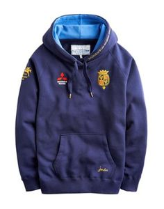 Joules Unisex Hooded Sweatshirt, French Navy. Part of the official Badminton 2014 Horse Trials