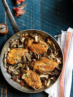 This Italian chicken dish with Marsala wine and mushrooms only looks and tastes like you slaved over the stove.