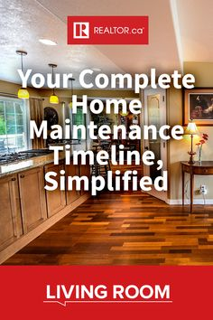 If you've been thinking of starting a much-needed home maintenance schedule, then head to REALTOR.ca Living Room. We've compiled everything you need to know to get started! #homeimprovement #homemaintenance #homeownership #DIY #homeinspection
