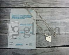 #collana maglia diamantata cuore con pietra preziosa con certificato di garanzia - argento 925 http://www.glesa.it/vetrine/linea_cuore_925