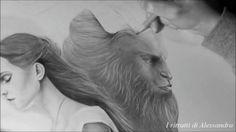 "Video Portrait of ""Beauty and the Beast "" @emmawatson  I ritratti di Alessandra @beautyandthebeast . . .  #emmawatson #danstevens #beautyandthebeast #beautyandthebeast2017 #drawing #graphic #art #aristic #draw #artoftheday #artofdrawing #art_promote #workinprogress #worldofpencils #pencil #instalike #instaartist #instagood #arthelp #wip #movie #labellaelabestia #beast #beauty #creative #love #portraits #portraitphotography #belle #belleandthebeast"