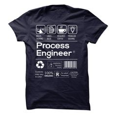 PROCESS ENGINEER T-Shirts, Hoodies. BUY IT NOW ==► https://www.sunfrog.com/LifeStyle/PROCESS-ENGINEER-41680092-Guys.html?41382