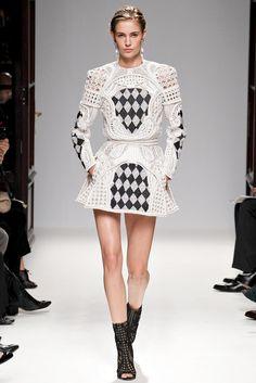 paris fashion week 2013   Paris Fashion Week  Balmain Spring/Summer 2013!
