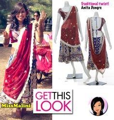 Mehendi short lehenga by Anita Dongre - maybe a more casual version of this for the mehendi?