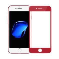 Apple iPhone 7 red tempered glass screen protector  #iphone #temperedglass #üvegfólia