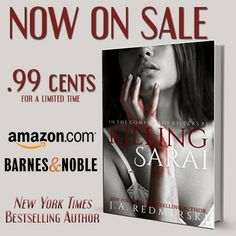 Killing Sarai is on sale to celebrate the release of The Swan and the Jackal by J.A. Redmerski