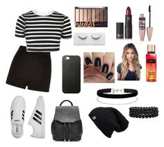 """""""Untitled #101"""" by xheartit101 on Polyvore featuring River Island, Topshop, adidas, rag & bone, Miss Selfridge, Bling Jewelry, Maybelline and Lipstick Queen"""
